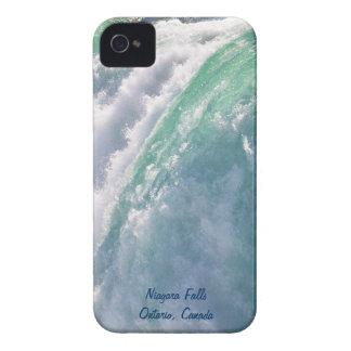 La herradura de la cascada cae en la caja del funda para iPhone 4 de Case-Mate