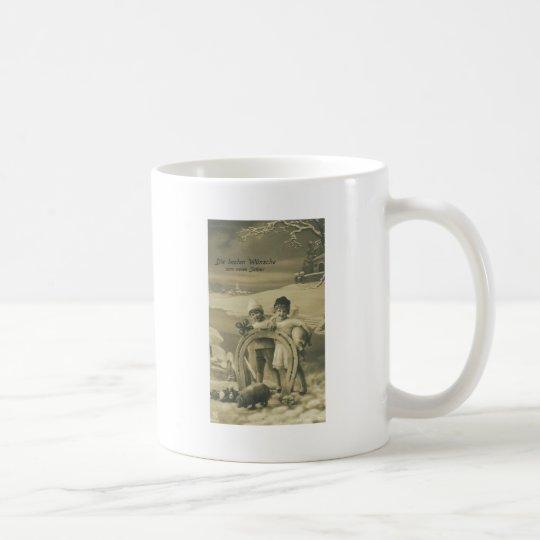 la herradura del cerdo embroma el trébol taza de café