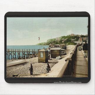 La Heve del bulevar marítimo, Havre, Francia Tapetes De Ratones