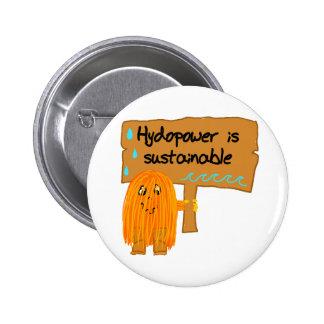 la hidroelectricidad anaranjada es sostenible pin