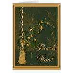 La hiedra elegante le agradece tarjeta de felicitación