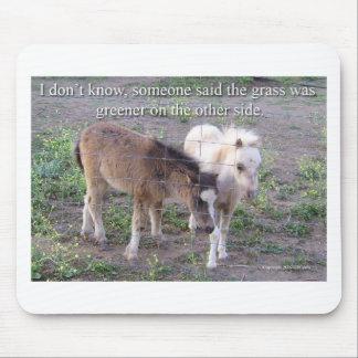 La hierba es más verde tapetes de ratones