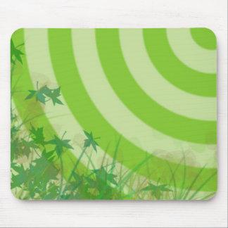 La hierba es siempre más verde tapete de ratones