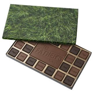 La hierba es siempre una caja más verde de caja de bombones variados con 45 piezas