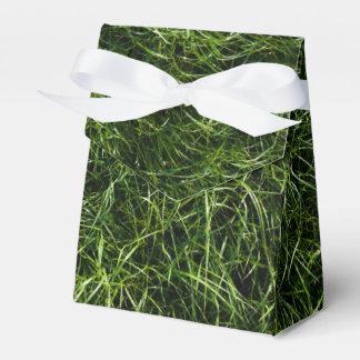 La hierba es siempre una caja más verde del favor caja para regalo de boda