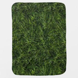 La hierba es siempre una manta más verde del bebé mantitas para bebé