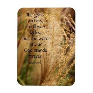 La hierba marchita/imán de la escritura de la hier