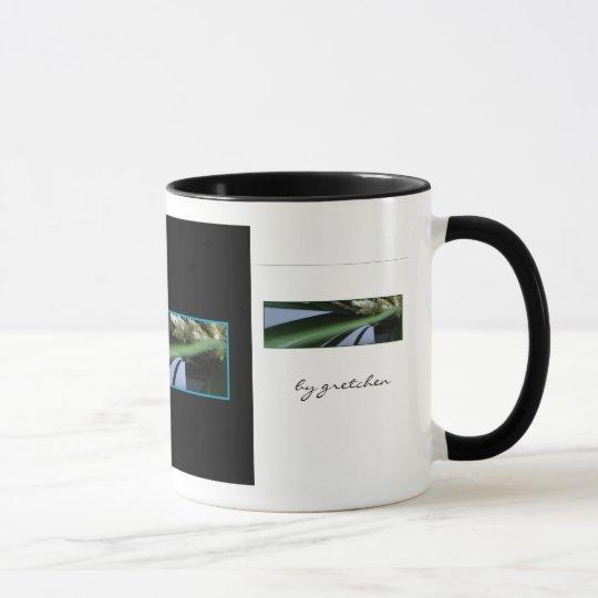 La hierba y el café y el té del brezo asaltan taza
