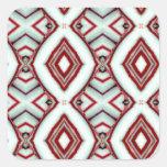 La hierbabuena pega diciembre de 2012 pegatina cuadradas personalizadas