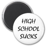La High School secundaria chupa Iman De Frigorífico
