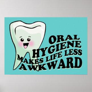 La higiene oral hace vida menos torpe impresiones