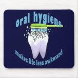 La higiene oral hace vida menos torpe tapetes de ratón