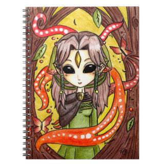 La hija de Mages Spiral Notebooks