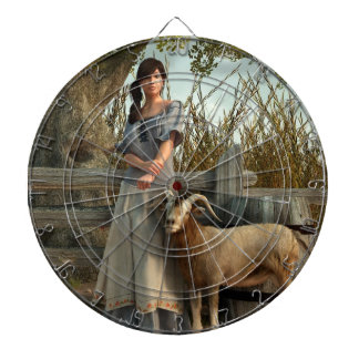 La hija del granjero tablero de dardos
