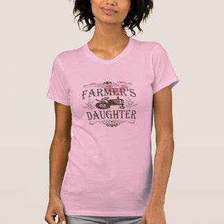 La hija del granjero lindo playera