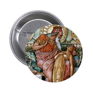 La hija del Midas dada vuelta al oro Pins