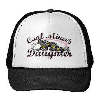 la hija del minero de carbón gorro de camionero