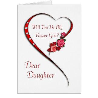 La hija, florista del corazón que remolina invita felicitacion