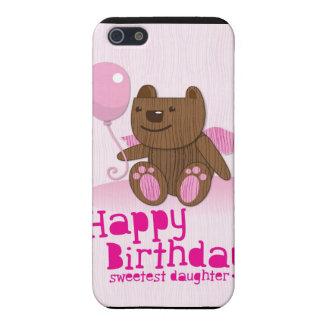 ¡La hija más dulce del oso del feliz cumpleaños! iPhone 5 Carcasas