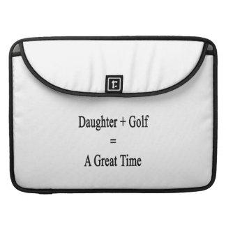 La hija más golf iguala un gran rato fundas para macbooks