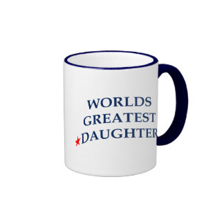 La hija más grande de los mundos taza de café