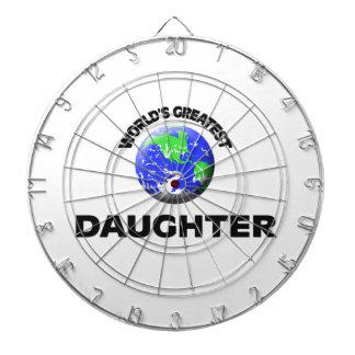 La hija más grande del mundo tabla dardos