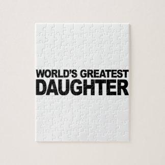 La hija más grande del mundo puzzle con fotos