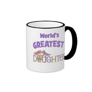 La hija más grande del mundo tazas de café