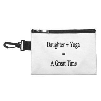 La hija más yoga iguala un gran rato