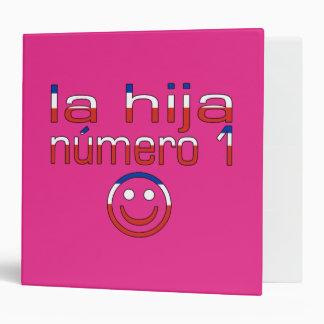 La Hija Número 1 - Number 1 Daughter in Chilean 3 Ring Binder
