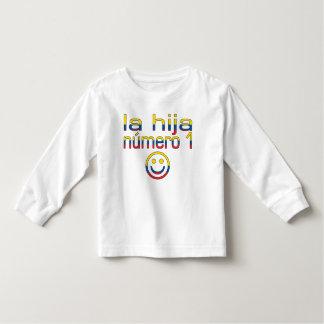 La Hija Número 1 - Number 1 Daughter in Ecuadorian T-shirt
