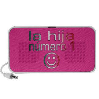 La Hija Número 1 - Number 1 Daughter in Mexican iPod Speakers