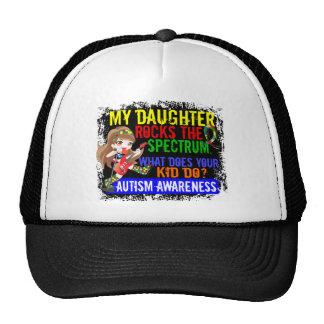 La hija oscila el autismo del espectro gorras de camionero