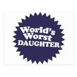 La hija peor del mundo postal