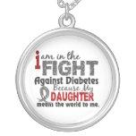 La hija significa el mundo a mí diabetes joyeria personalizada
