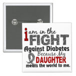 La hija significa el mundo a mí diabetes pins
