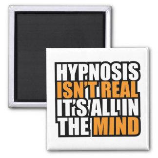 La hipnosis no es imanes el   divertidos reales imán cuadrado