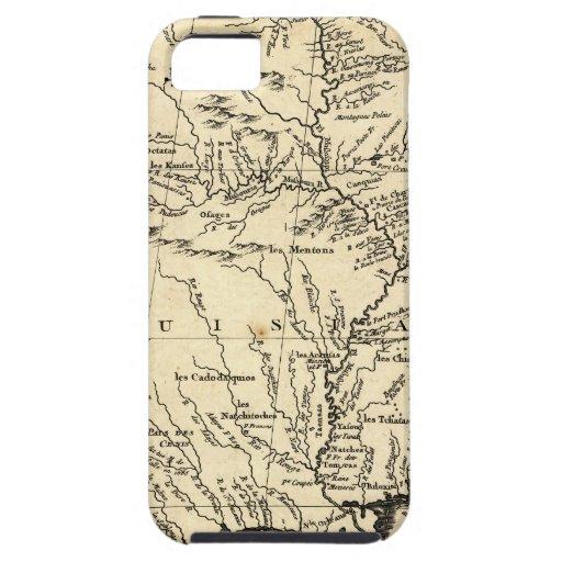 La historia de Bellin del territorio de Luisiana iPhone 5 Carcasa