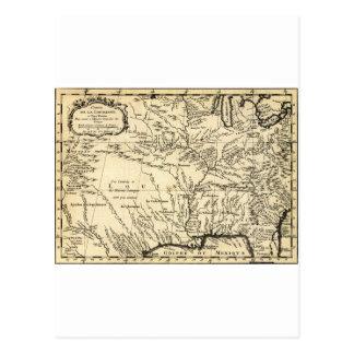 La historia de Bellin del territorio de Luisiana Tarjetas Postales