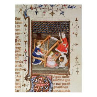 La historia de Gaia del ` De Claris Mulieribus Tarjetas Postales