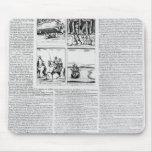 La historia de la batalla de Worcester Alfombrillas De Raton