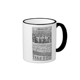 La historia de la guerra santa: taza de café