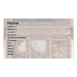 La historia de la humanidad, 9 placas de Moreau Gu Tarjetas Personales