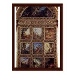 La historia de la humanidad, 9 placas de Moreau Gu Postales
