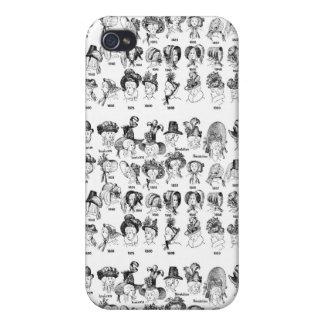 La historia de los gorras de las mujeres iPhone 4 carcasa