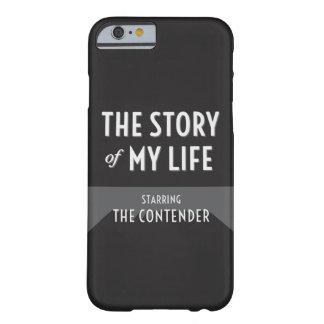 La historia de mi vida - la caja del competidor funda para iPhone 6 barely there
