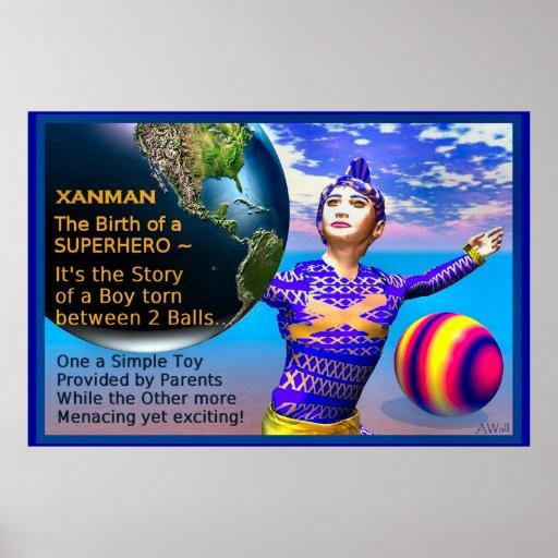 ¡La historia de XANMAN~The comienza! Poster