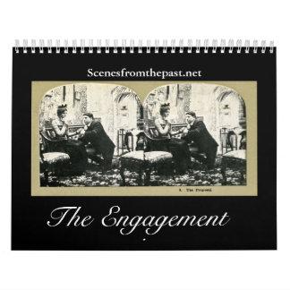 La historia del compromiso - vintage 2011-12 (18 m calendarios de pared