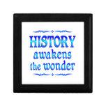 La historia despierta caja de recuerdo