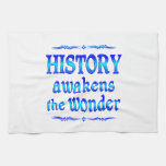 La historia despierta toallas de mano